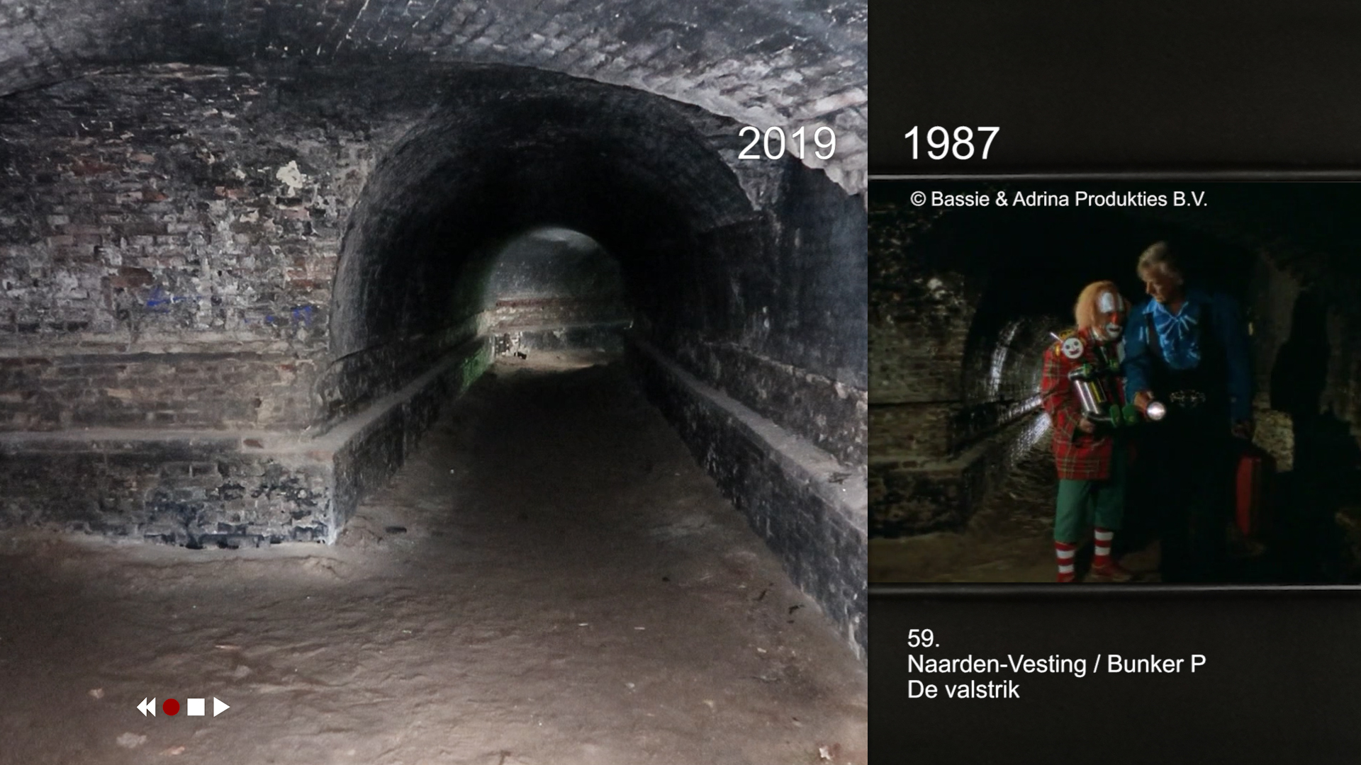 Bassie en Adriaan / Naarden Vesting bunker P